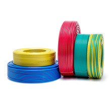 1m /lot BV2.5mm square single core flame retardant hard wire BV2.5 mm anaerobic solid pure copper wire BV 2.5mm PVC 2.5 mm cable