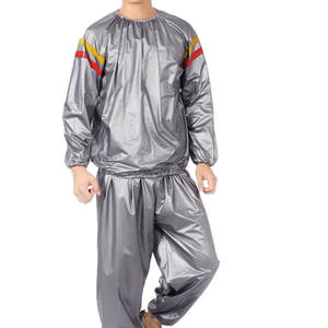 Feitong Fitness-Clothes Slimming-Suit Sweating Sauna Yellow Sports And Pvc Red