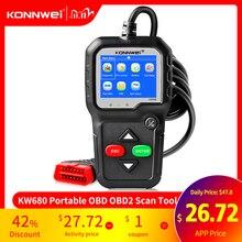 OBD2 Scanner OBD 2 Car Diagnostic Auto Diagnostic Tool KONNWEI KW680S Russian Language Car Scanner Tools Diagnostic Scanner