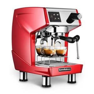 Image 1 - 15bar اسبرسو قهوة تجارية آلة 220V مطعم فندق مقهى باستخدام القهوة صانع LED عرض ماكينة إسبريسو