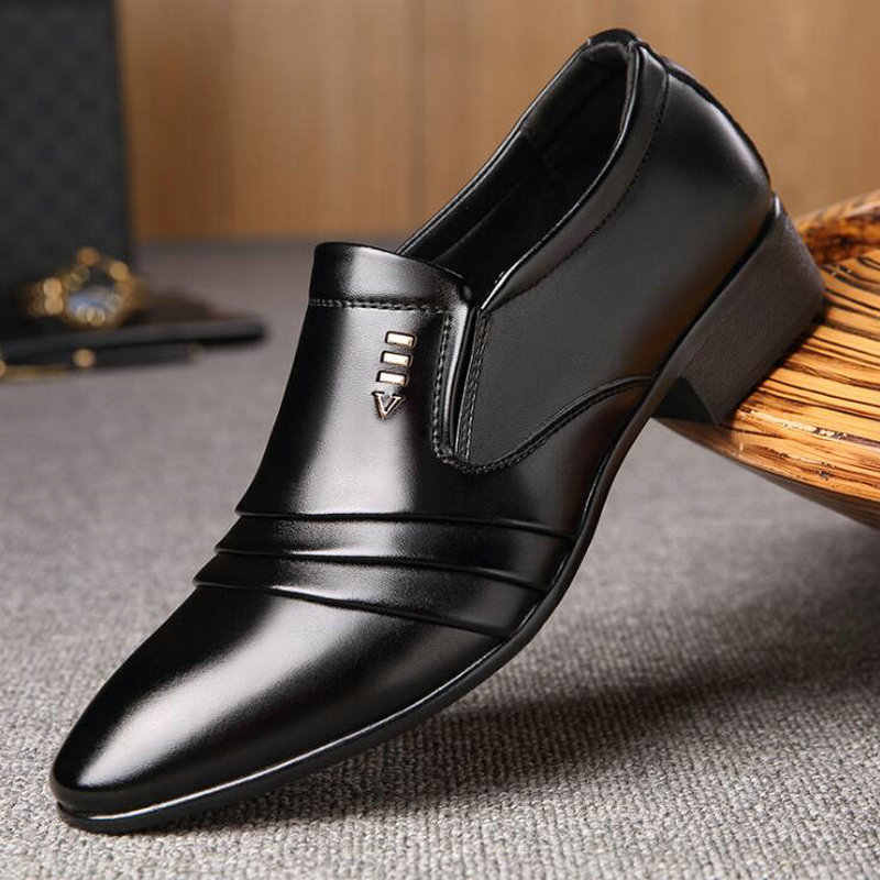 New Fashion Men Flats Shoes slip on