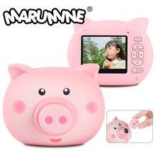 Детская цифровая камера Marumine HD 12,0 Mega Piexl с 2,3 дюймовым экраном, Электронная съемка с таймером, игрушечная фотография