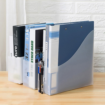 Magazine Book Rack Document Tray Plastic File Holder Table Storage File Organizer Office Supplies Stationery Box hua jie 1pc plastic magazine sleeve holder a4 letter display layers desk organizer 3 tier file folder tray document storage rack