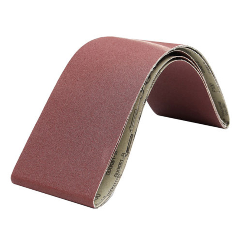 6Inch X 48 Inch 100 Grit Lapped Butt Joint Aluminum Oxide Sanding Belt