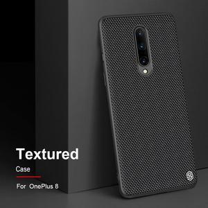 Image 3 - for Oneplus 8 Pro Twinkle Case NILLKIN Textured Nylon Fiber Luxury Durable Non slip Full Cover Polyester Case for One Plus 8 Pro