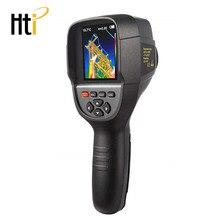 Hti 18 Ручной ИК тепловизор камера цифровой дисплей высокое инфракрасное разрешение изображения тепловизор-25 до 450 градусов