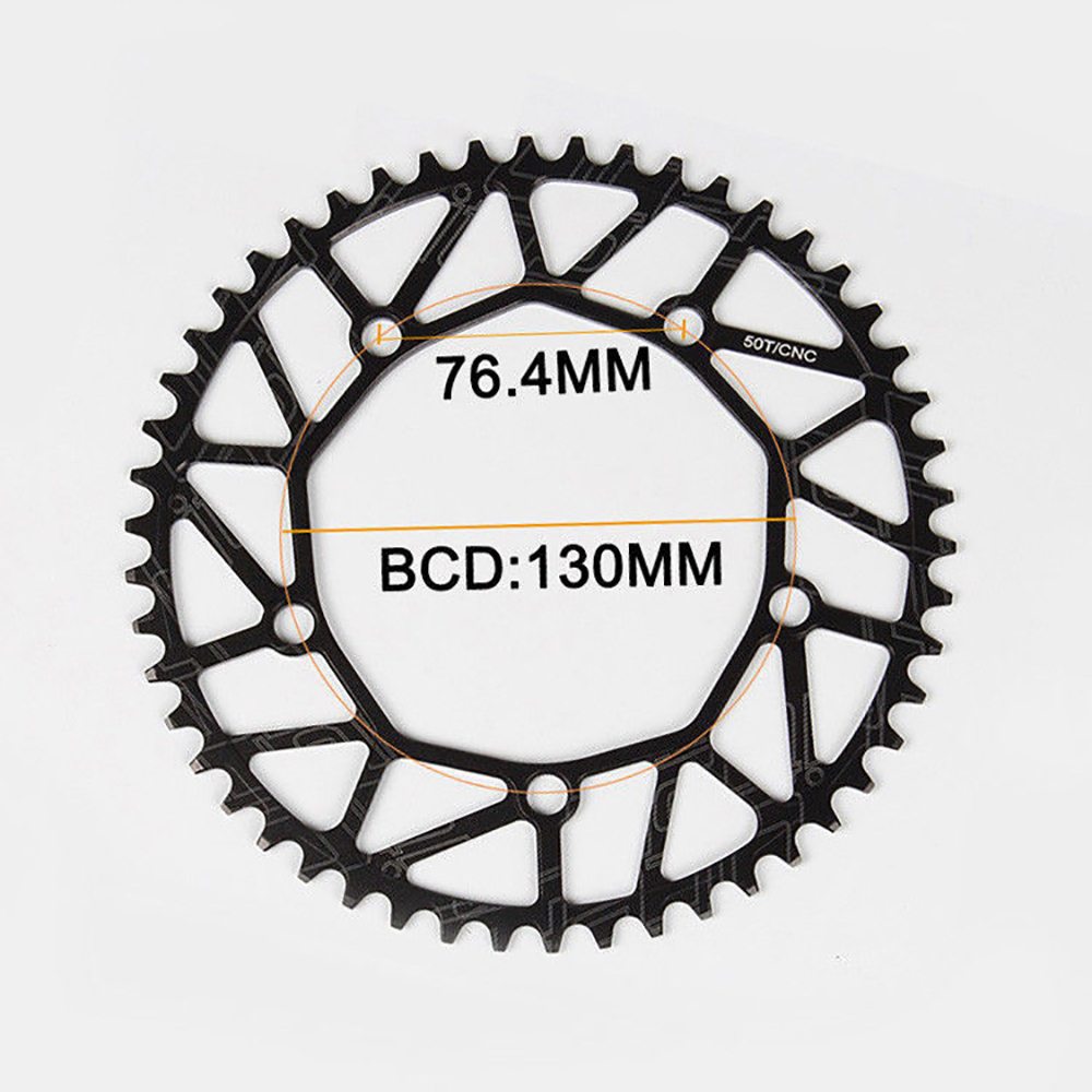 Litepro CNC Hollow 130mmBCD 50-58T Chainring Narrow Wide Bike Chainwheel Disc