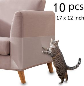 10pcs Cat Scratching Tape Deterrent Anti Scratch Durable Sticker Furniture Scratch Guards Sofa Protection Pads Pet Supplies