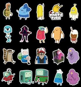 10/30/50 шт, водонепроницаемые наклейки с героями мультфильмов для девочек, чемодан для скейтборда, гитары, граффити, сделай сам, Детские Класси...