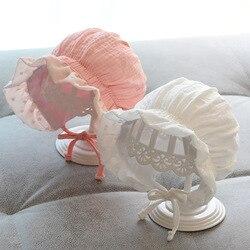 Размер 0-12 мес., комплект Регулируемый сплошной цвет, детский головной убор, кепка бейсболка реквизит для фотографирования новорожденных де...