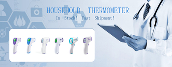 цена на Infrared Thermometer Digital Non Contact LCD Display with Backlight Portable Laser Temperature Thermometer Gun Instrument !