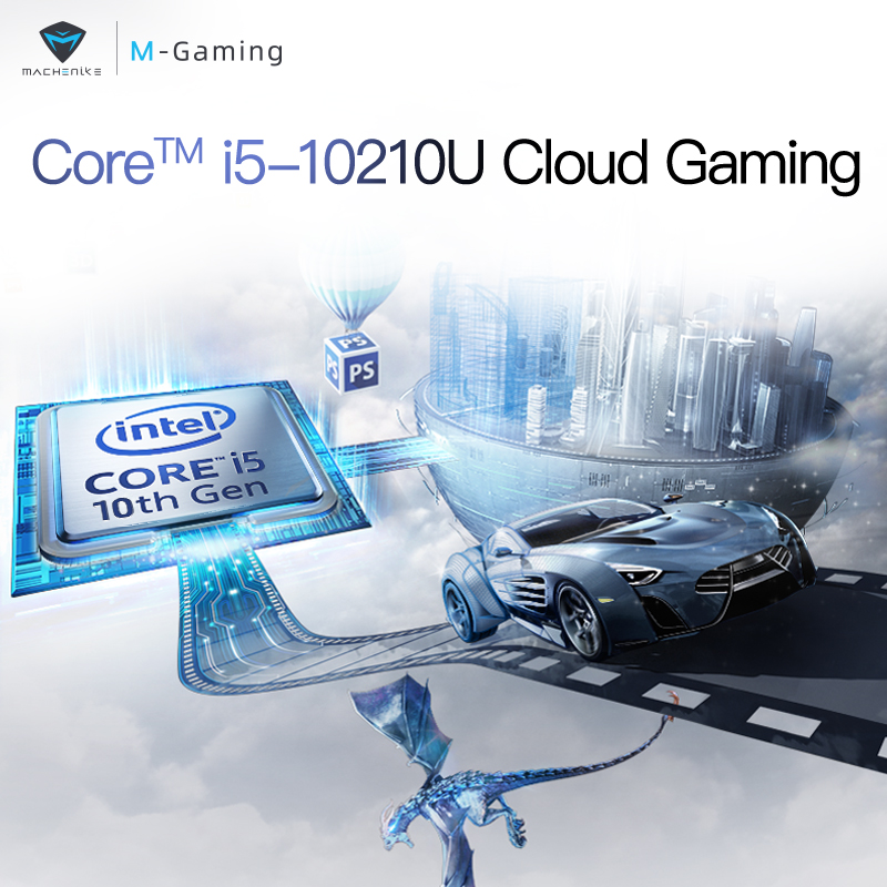 cheapest Machcreator-L 15 6 inch intel Laptop Core I5 10210U Win10 MX350 16G 512SSD 1920 1080 IPS Laptops with Backlit Keyboard
