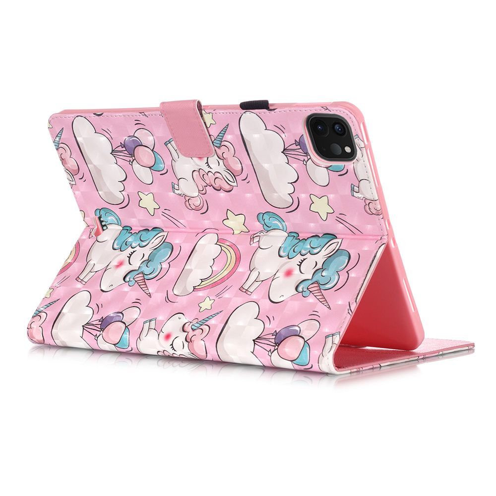 Leather Bear Cover 11 Case Unicorn Pro iPad Tablet Butterfly Owl Coque Funda For For 2020