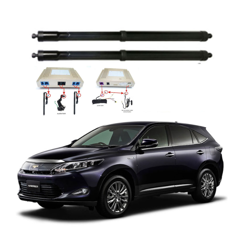 New Electric Tailgate Refitted For Toyota HARRIER 2015 -2020 Tail Box Intelligent Electric Tail Door Power Tailgate Lift Lock
