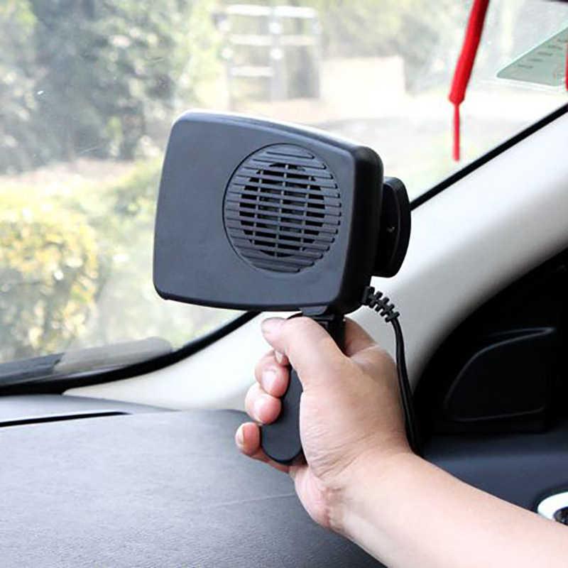 Voiture 12v voiture Électrique voiture foyers 24v vitre dégivrage désembuage chauffage Chauffage Mural Électrique Mini Portable Plug-in