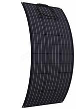 ETFE elastyczny Panel słoneczny 300w 200w 100w 400w 18V Panel solarny monokrystaliczny do ładowarki 12V 24V tanie tanio JINGYANGPV CN (pochodzenie) Ogniwa fotowoltaiczne 1050MM*540MM*2 5MM BPS 32-100 or ETFE 32-100 Krzem monokryształowy 100W OR 200w or 300W or 400w