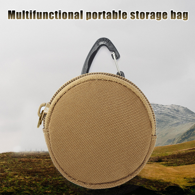 Earphone Headphone Carry Storage Case Headset Protector Box Zip Pouch Bag VH99
