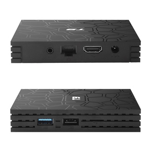 Image 5 - Android 9.0 TV BOX T9 Smart TV Box 4K Quad Core Media Player 4GB RAM 32GB/64GB ROM H.265 2.4G/5G WIFI USB 3.0 TVbox Set Top Box