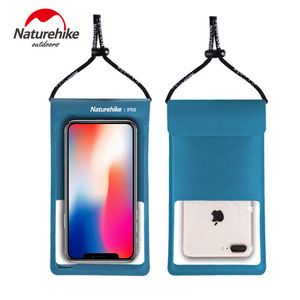 Naturehike 2020 New IPX8 Mobile Phone Waterproof Bag TPU Waterproof Membrane Diving Phone Waterproof Bag Case For Under 7 Inches