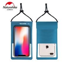 Naturehike 2020 nowy telefon komórkowy IPX8 wodoodporna torba TPU wodoodporna membrana nurkowanie telefon wodoodporna torba Case dla poniżej 7 cali