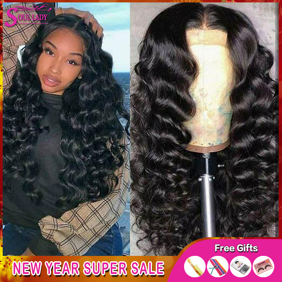 13x4 13x6 Transparent Glueless Lace Front Human Hair Wigs Remy Loose Wave Malaysian Wig Pre Plucked 360 Lace Frontal Wigs 150%