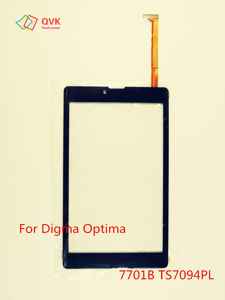 Черный 7 дюймов для Digma Optima 7013 7103M 7302 7303M 7305S 7307D 7701B 3g 4G емкостный сенсорный экран панель TS7094PL