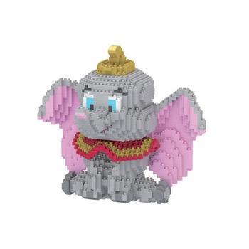 hot Lepining creators classic US Anime Animal Elephant figures mini Micro Diamond Building Blocks moc model bricks toys for gift