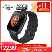70mai saphir 70mai relógio inteligente bluetooth gps esporte monitor de freqüência cardíaca 5atm resistência chamada lembrete 70mai smartwatch app
