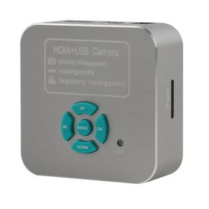 Image 5 - 3.5X 90X Simul Focal Stereo Trinocular Microscope Set 36MP 4K 1080P HDMI Video Camera For Phone Repair Soldering