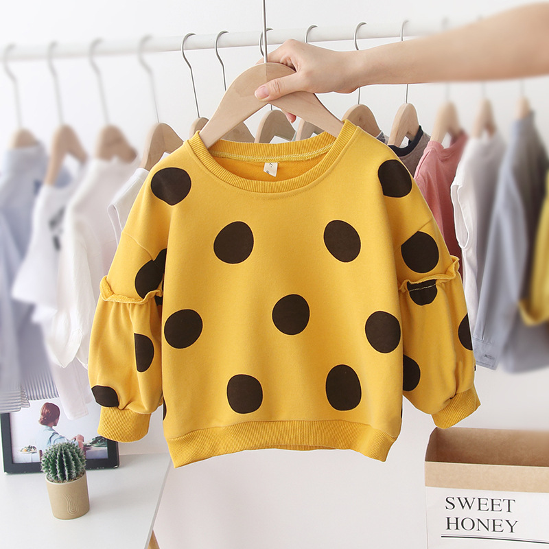 Dotted Sweater Yellow