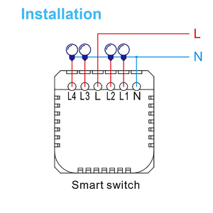 Image 3 - Wifi Smart Light Switch Wall Glass Screen Interruptor Touch Panel Voice Control Wireless work for Alexa Google Home 1/2/3/4 Gang