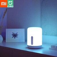 Original Xiaomi Mijia Bedside Lamp 2 Smart Light Voice Control Touch Switch Mi Home App Led Bulb for Apple Homekit Siri