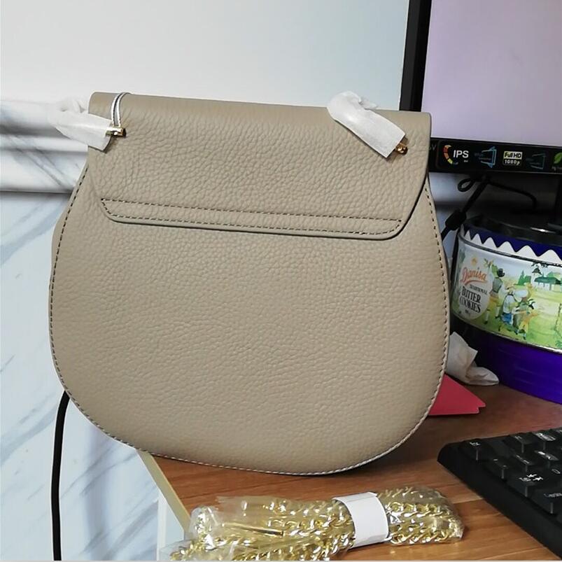FoxTail & Lily Korean Genuine Leather Chain Bag Women Crossbody Bags Ladies Handbags Small Shoulder Messenger Bag for Girls