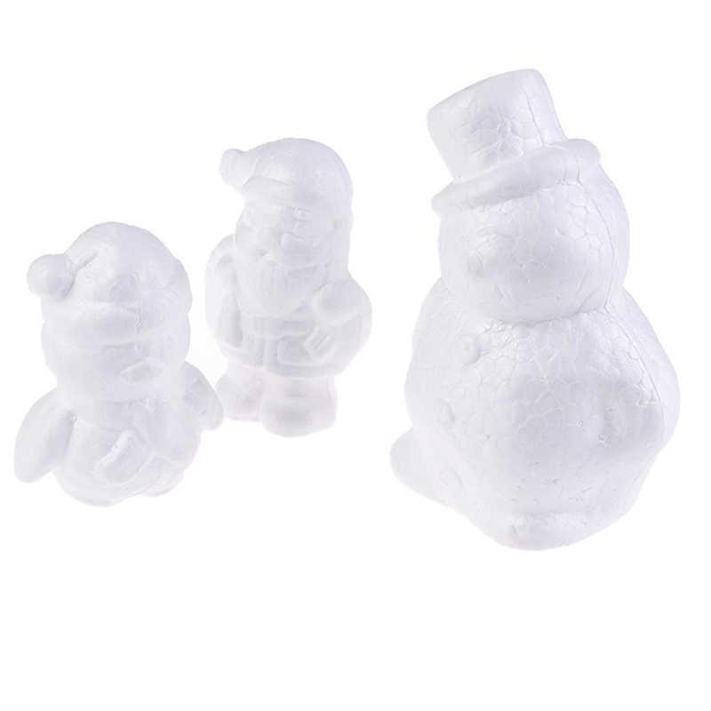 Poliestireno hombre de nieve 17cm
