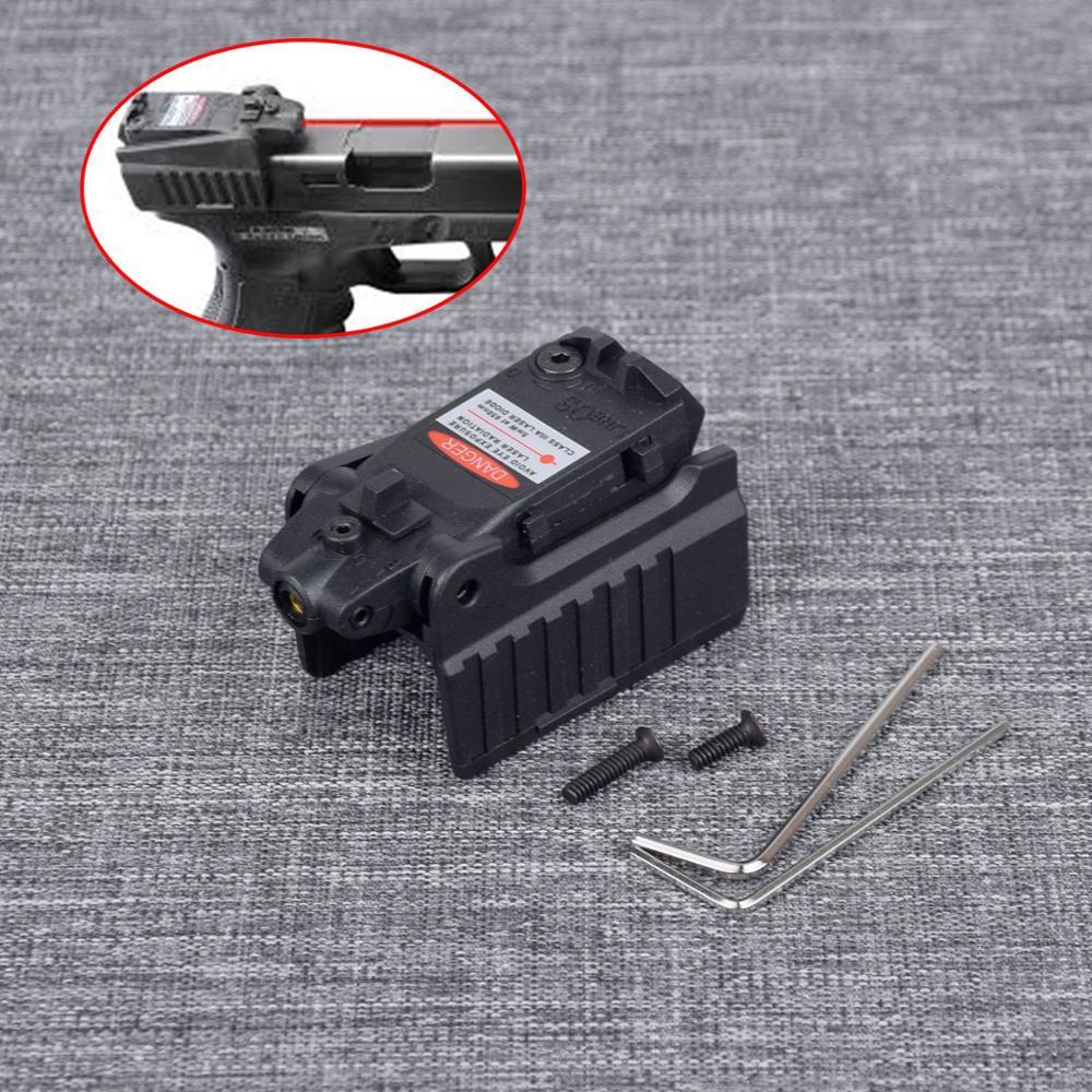 Красный лазерный прицел для страйкбола KWA KSC Glock 17 19 22 23 25 26 27 28 31 32 33 34 35 37 38