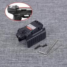 Tático Mira Laser Vermelho Apto Para KWA Airsoft KSC Glock 17 19 22 23 25 26 27 28 31 32 33 34 35 37 38 Pistola Ferro Visão Traseira