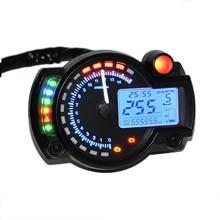 15000 об/мин современный мотоциклетный цифровой светильник с ЖК-дисплеем, спидометр, тахометр, одометр, регулируемая мотоциклетная Speedomet