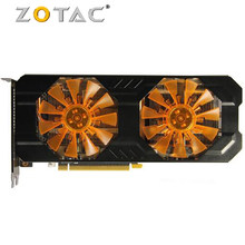 Original ZOTAC Grafikkarte GTX 760 2GB 256Bit GDDR5 Grafikkarten GPU Für NVIDIA GeForce GTX760 2GD 5 PCI-E HDMI Karte Verwendet GK104