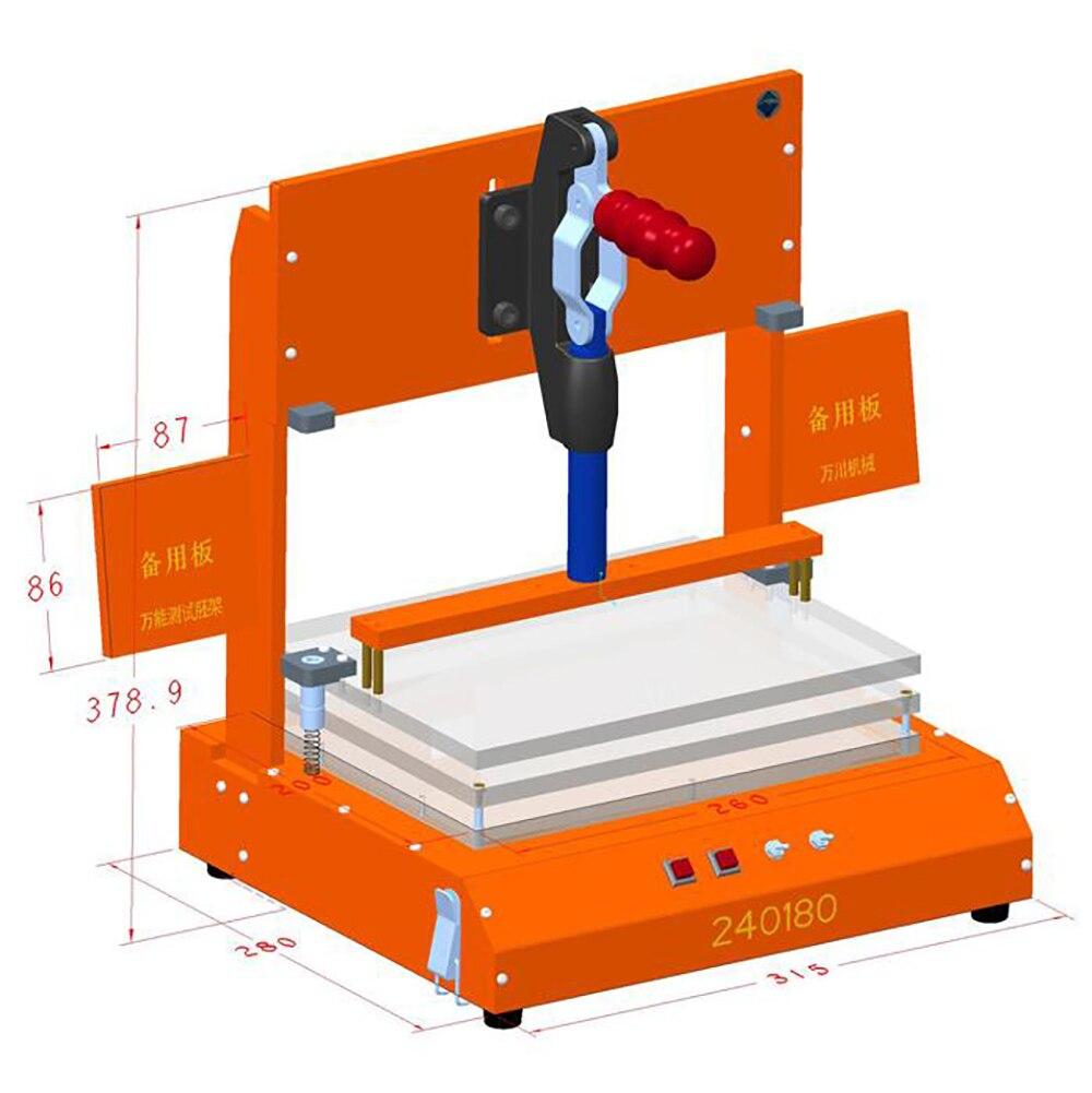 Universal Test Frame PCB Testing Jig PCBA Test Fixture Tool Bakelite Fixture Test Rack Y|Tool Parts| |  - title=
