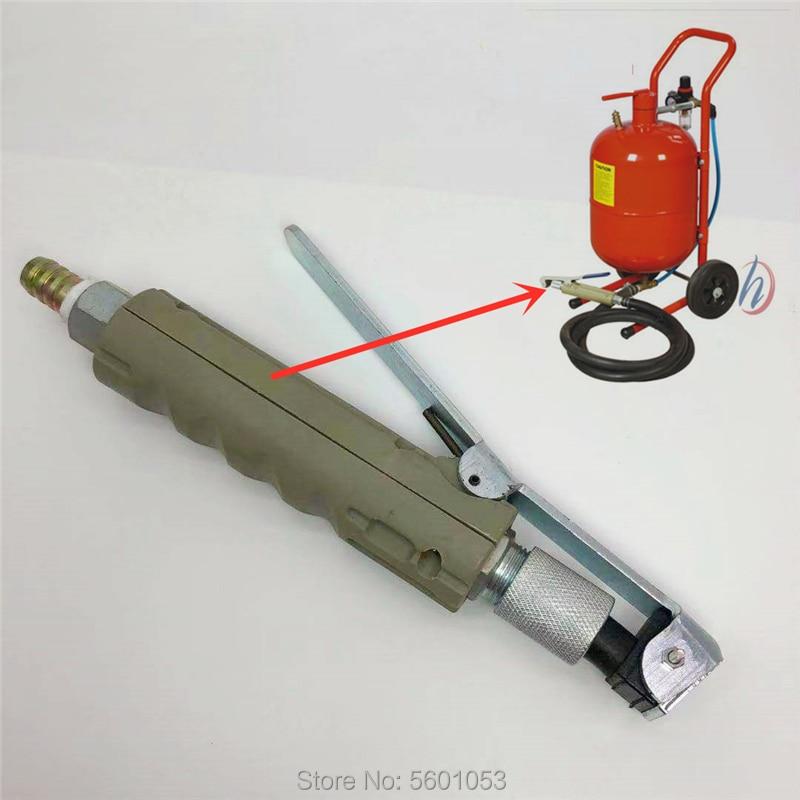 For 5-20 Gallon Mobile Pneumatic Sandblasting Blasting Machine Tool Portable Rust Blasting Nozzle Heads Sand Blaster Nozzle