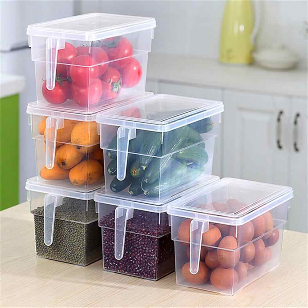 New Portable Refrigerator Fridge Sealed Food Fruits Storage Box Organizer Container Storage Boxes