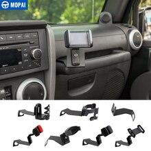 MOPAI Car Bracket for Wrangler 2007-2010 Car Interphone Ipad Mobile Phone Holder
