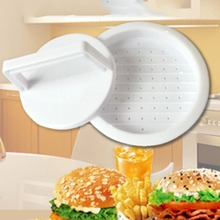 Мясо для гамбургеров пресс-инструмент Многофункциональный кухонный инструмент круглой формы пищевой PP DIY приспособление для приготовления бургеров