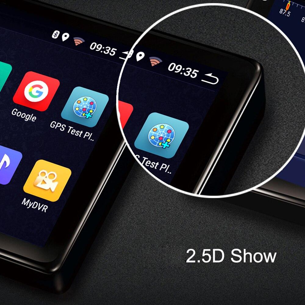Auto radio player per Ford Focus multimediale per auto 2006 2014 2 32G 8 core android GPS per auto di navigazione carplay Videocamera vista posteriore - 5