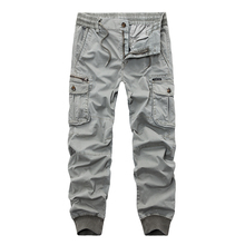 New 2019 Brand Casual Joggers Solid Breathable Pants Men Summer Army Military Style Trousers Mens Tactical Cargo Pants Male