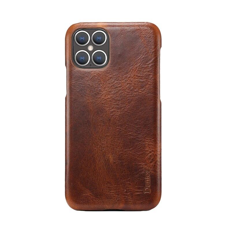 Кожаный чехол для Iphone 11 12 Pro Max, чехол для телефона Iphone12, противоударный чехол для задней панели, чехол, грязеотталкивающий Модный чехол