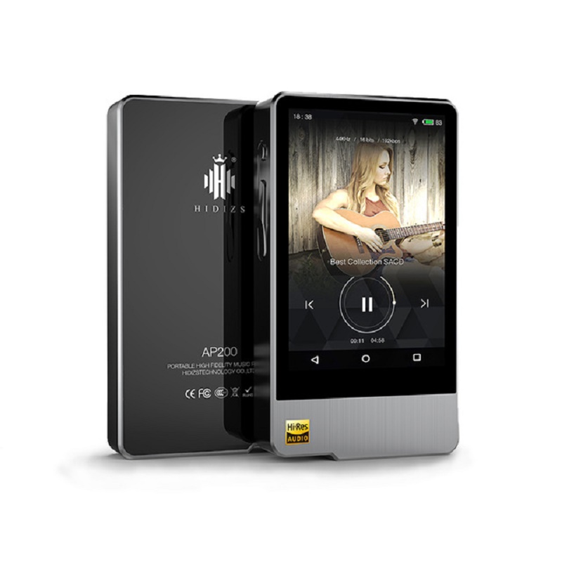Hidizs AP200 Android Bluetooth HiFi Music Player 64GB build-in memory 3.54'IPS Double ES9118C DAC DSD PCM FLAC MP3 image