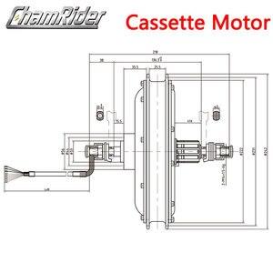 Image 5 - 48V 500W Direct Drive Gearless Hub Motor E bike Motor Front Motor Rear Cassette Motor Optional MXUS Brand XF39 XF40 freehub