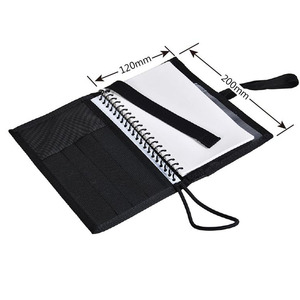 Image 5 - Deluxe Onderwater Notebook Duiken Log Boek Met Waterdichte Papier Pagina S Makkelijk Te Maken Note Zwart