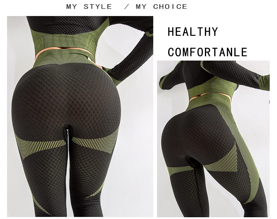Suits yoga outfit  (18)
